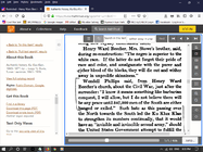 Beecher Quote pg 123 Authentic History Ku Klux Klan, 1865-1877, Susan Lawrence Davis, 1924.png