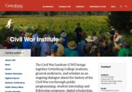 Civil War Institute at Gettysburg College
