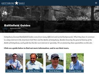Gettysburg Battlefield Guides