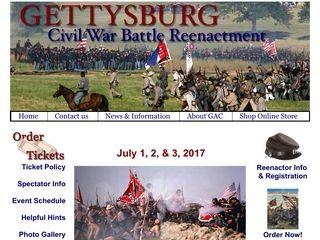 Annual Gettysburg Civil War Battle Reenactment