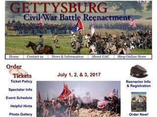 Annual Gettysburg Civil War Battle Reenactment