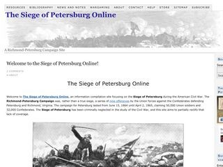 Beyond the Crater: The Siege of Petersburg Online
