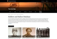 NPS: Soldiers and Sailors Database