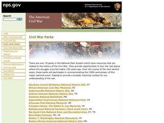 All National Park Service Civil War Parks