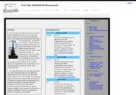Civil War Battlefield Monuments