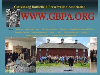 Gettysburg Battlefield Preservation Association