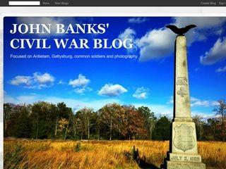 John Banks' Civil War Blog