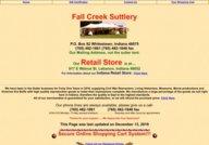 Fall Creek Suttlery