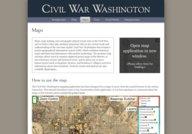 Civil War Washington (maps)