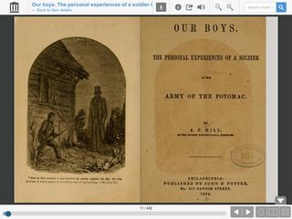Our Boys: The Personal Experiences of a Soldier in the Army of the Potomac