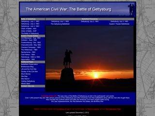 The Battle of Gettysburg & the American Civil War