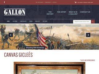 Gallon Historical Art