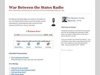 War Between the States Radio