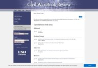 Civil War Book Review - LSU Libraries' Special Collections
