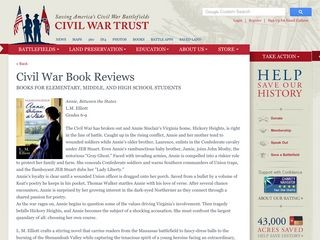 Civil War Book Reviews - Civil War Trust