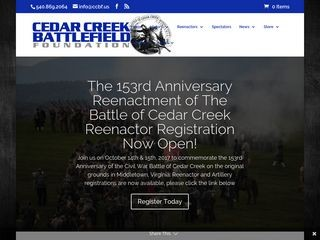 Cedar Creek Battlefield Foundation