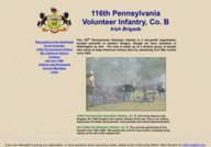 116th Pennsylvania Volunteer Infantry, Co. B Irish Brigade