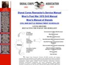 Signal Corps Association Re-enactors' Division