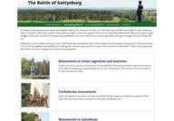 The Battle of Gettysburg/Stone Sentinels