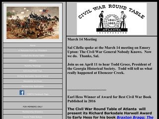 Civil War Round Table of Atlanta