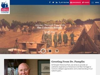 Pamplin Historical Park & The National Museum of the Civil War Soldier