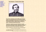 The George H. Thomas Home Page