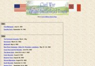 Civil War Virtual Battlefield Tours - John's Military History