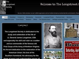 The Longstreet Society