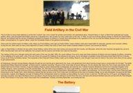 Field Artillery in the Civil War