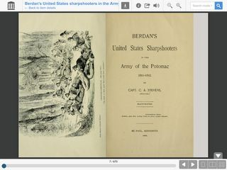 Berdan's United States Sharpshooters in the Army of the Potomac, 1861-1865