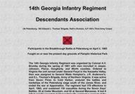 14th Georgia Infantry Regiment Descendents Association