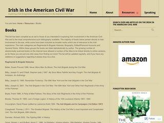 Bibliography for Irish in the Civil War