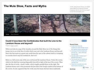 The Mule Shoe, Facts and Myths