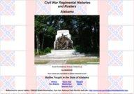 Civil War Regimental Histories and Rosters: Alabama