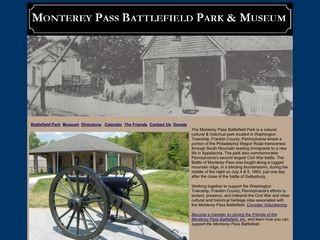Monterey Pass Battlefield Park and Museum