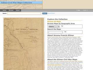 Gilmer Civil War Maps Collection