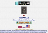 Arkansas Civil War Rosters and Regiments