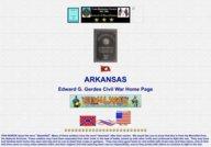 Arkansas Civil War Rosters and Regiments