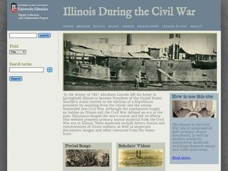 Illinois During the Civil War / Northern Illinois University libraries