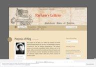 Parham's Letters