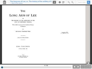 The Long Arm of Lee, or, The History of the Artillery of the Army of Northern Virginia / VOLUME 2