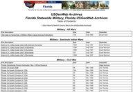 Florida Civil War Regimental Rosters