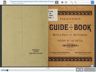 Danner's Pocket Guidebook of the Battle-field at Gettysburg