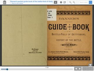 Danner's Pocket Guidebook of the Battle-field at Gettysburg