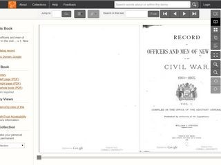 Records of Officers and Men of New Jersey in the Civil War 1861-1865 /  VOLUME 1
