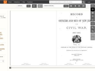 Records of Officers and Men of New Jersey in the Civil War 1861-1865 /  VOLUME 2