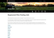 NPS Stones River Regimental Files