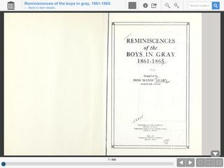 Reminiscences of the Boys in Gray: 1861-1865: Volume 1