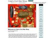 Cole's Civil War Shop