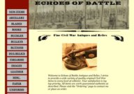 Echoes of Battle Civil War Antiques and Relics
